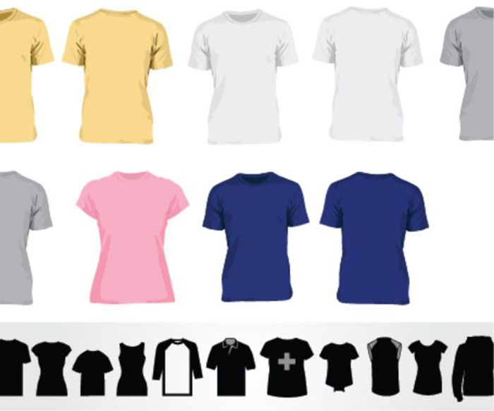700x583 82 Free T Shirt Template Options For Photoshop And Illustrator