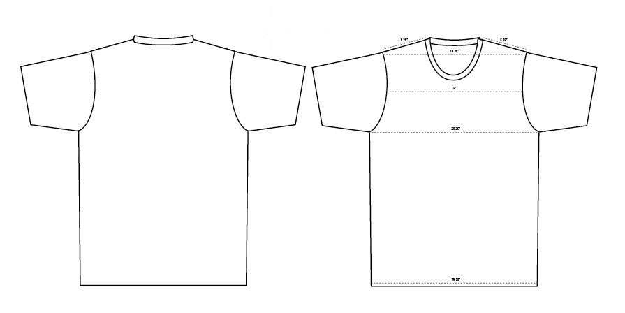 895x448 Blank T Shirt Templates 6 Must Haves