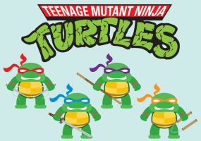 285x200 Teenage Mutant Ninja Turtles Free Vector Graphic Art Free Download