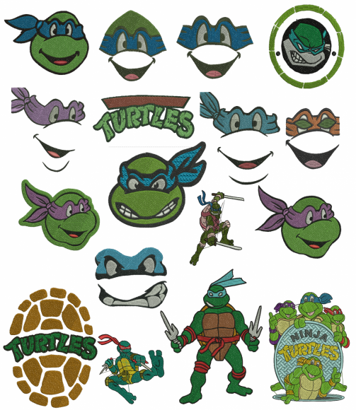Teenage Mutant Ninja Turtles Vector At Getdrawings Com Free For