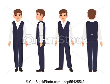 450x345 Elegant Smiling Teenage Boy Or Teenager With Brown Hair Wearing