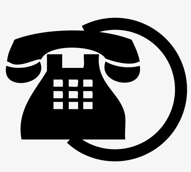 650x587 Icono Del Telefono Icono De Material Icono Del Telefono Black