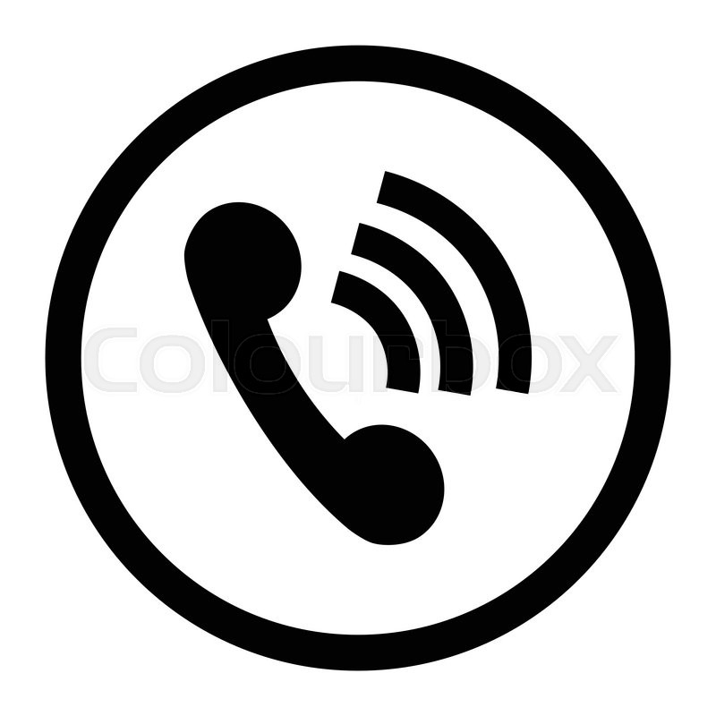 800x800 Phone Icon Connection Black. Contact Icon And Telephone Icon, Web