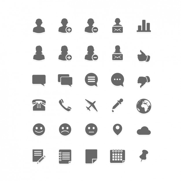 626x626 Telephone Icons Vector Free Download