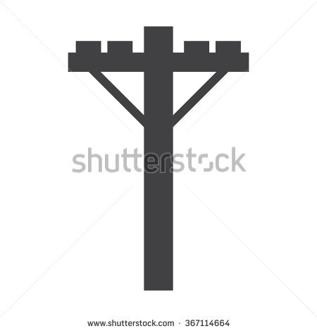 450x470 Electricity Pole Icon Free Icons