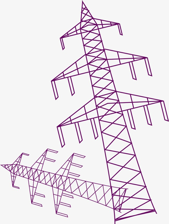 650x861 Purple Telephone Pole, Vector, Ai, Purple Png And Vector For Free