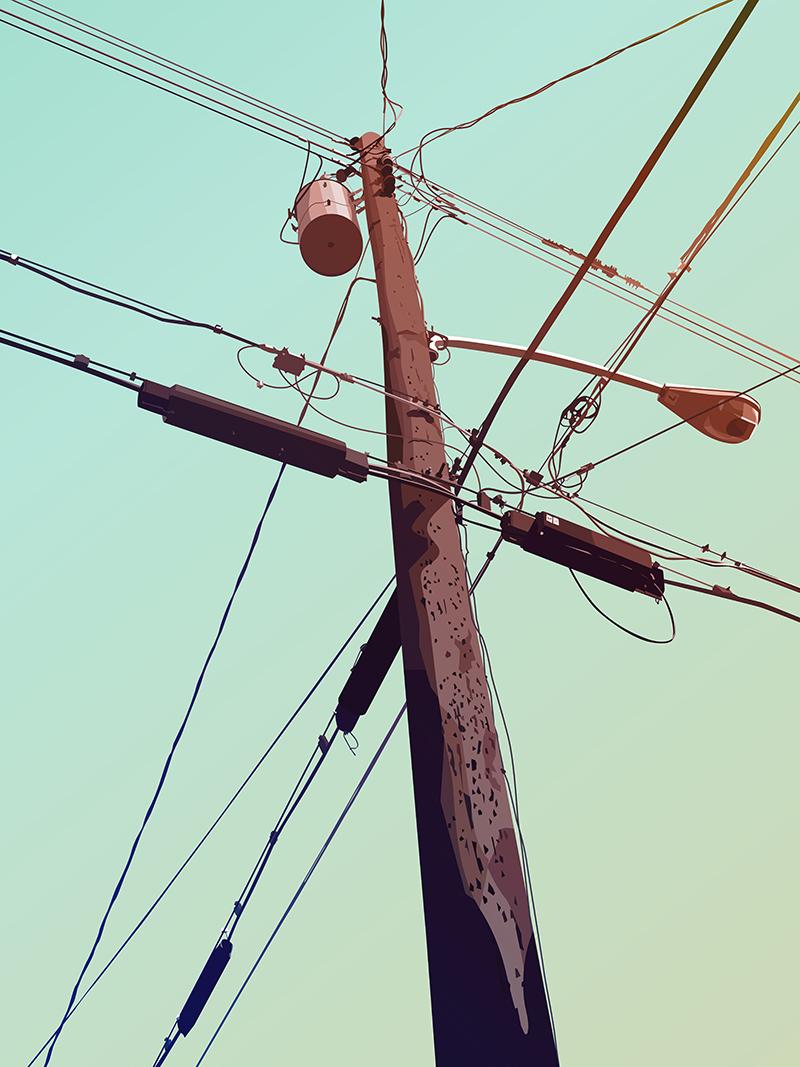 800x1067 Telephone Pole