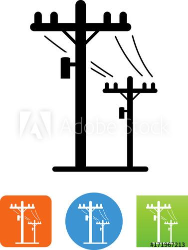 377x500 Telephone Poles Icon