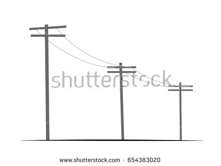 450x338 Collection Of Utility Pole Drawing High Quality, Free