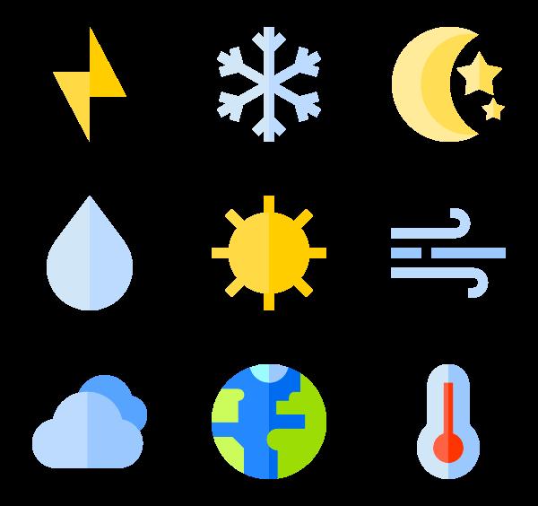 600x564 28 Temperature Icon Packs