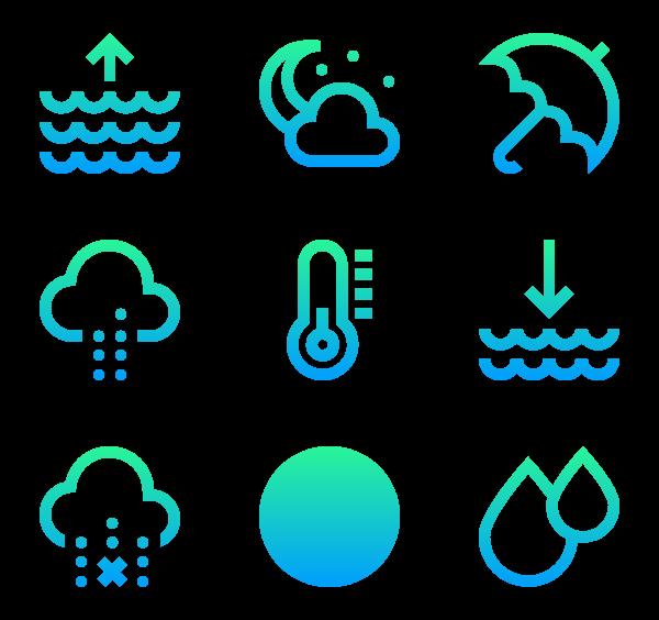 600x564 Temperature Icons