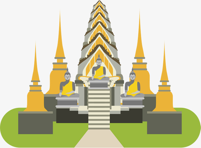 650x479 Buddha Vector, Temple, Architecture Png And Vector For Free Download