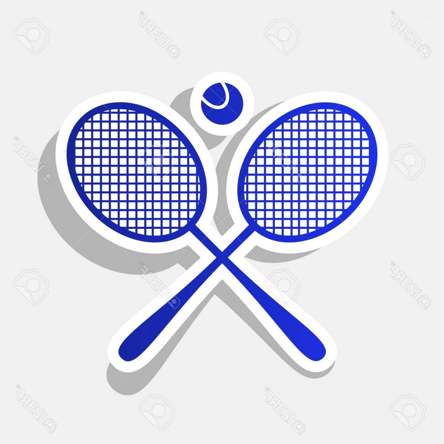 1560x1560 Photosigno De Raqueta De Tenis Vector Icono Azulado De Acbo Nuevo