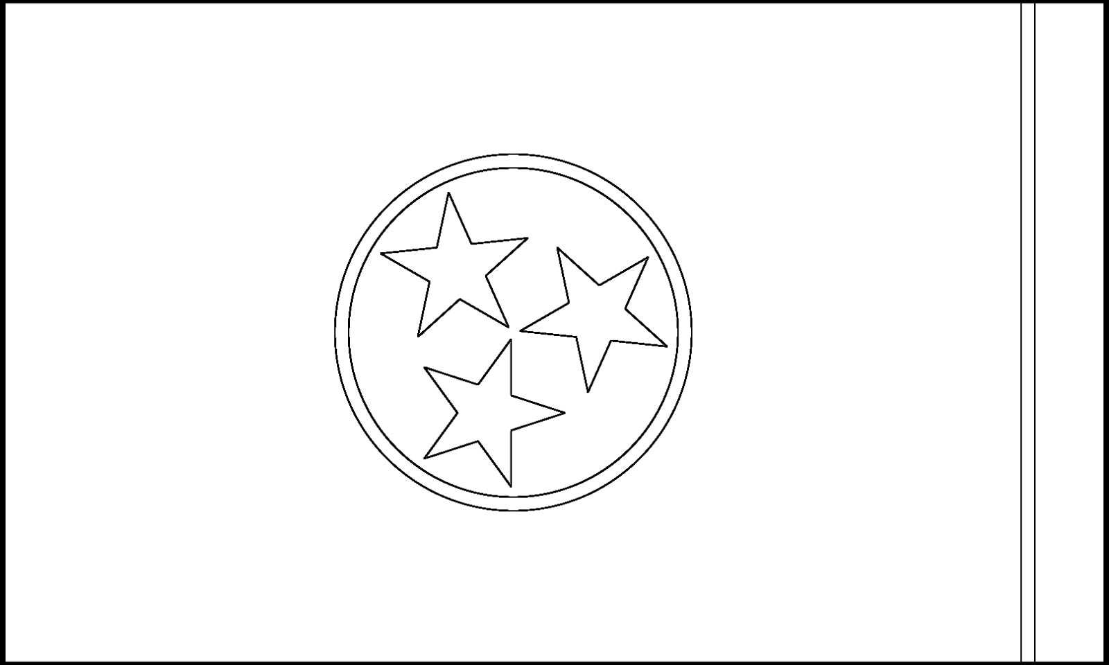 1600x960 Tennessee State Flag
