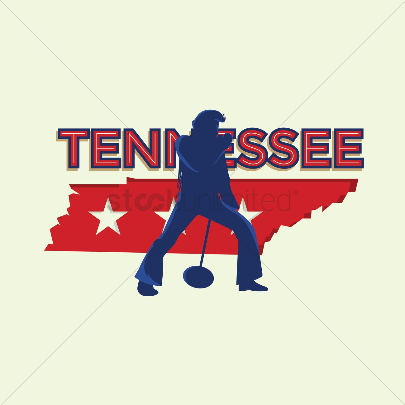 1300x1300 Tennessee Flag Vector Image