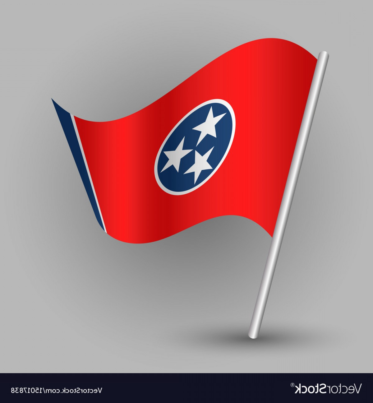 1200x1296 Triangle American State Tennessee Flag Vector Createmepink
