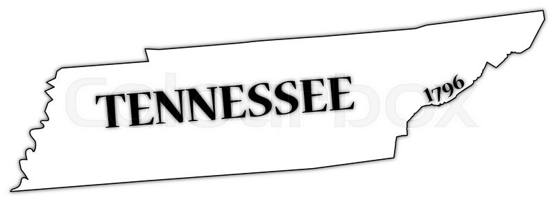 Tennessee Outline Vector