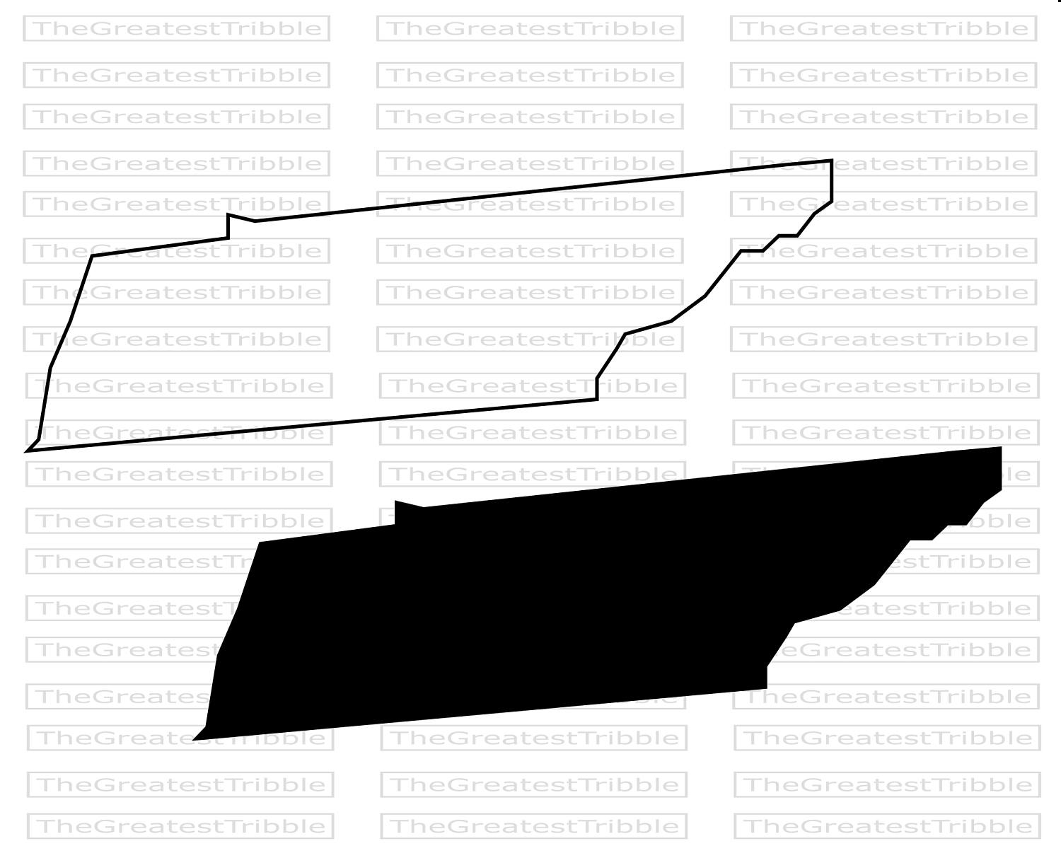 1500x1213 Tennessee Clipart Tennessee Outline Vector