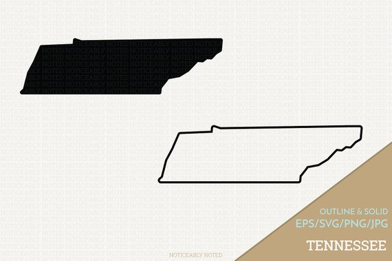 570x379 Tennessee Vector State Clipart Tn Clip Art Tennessee Svg Etsy