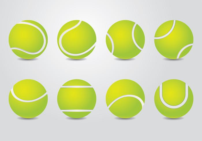 700x490 Tennis Ball Vector