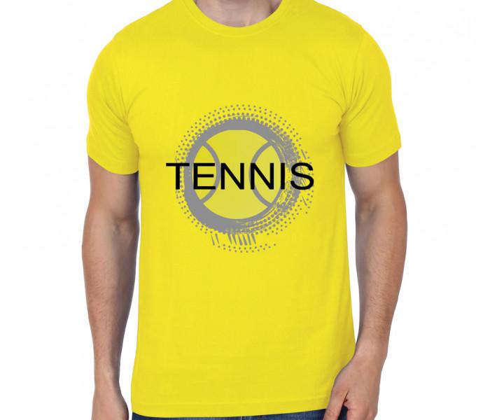 700x600 Tennis Ball Vector Tshirt In India