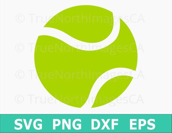 570x442 Tennis Vector Tennis Ball Vector Tennis Svg Tennis Ball Etsy