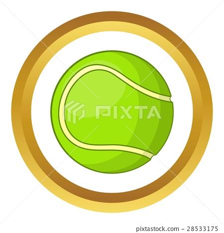 450x468 Tennis Ball Vector Icon