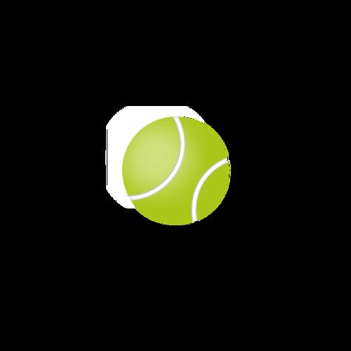 500x500 Tennis Ball Vector Image Public Domain Vectors