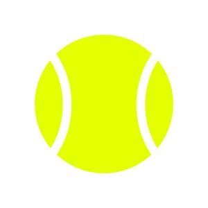 300x300 Tennis Ball Vector Royalty Free Vectors
