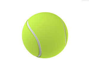 300x240 Isolated Tennis Ball Free Images