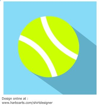 335x355 Vector Tennis Ball Icon With Shading. For A Few Dollars You Can