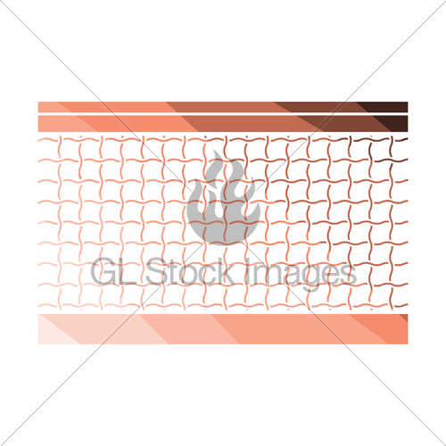 500x500 Tennis Net Icon Gl Stock Images