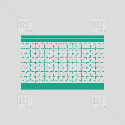 400x400 Tennis Net Icon Vector Image Vector Artwork Of Sport And Leisure
