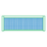 160x160 Tennis Net Icon Image Vector Illustration Design Stock Image And