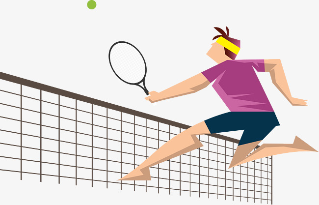 650x417 Tennis Player Vector, Internet Access, Net Front, Jump Png And