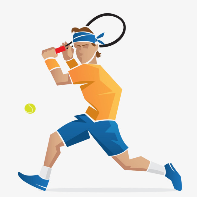 650x651 Tennis Player Vector Material, Tennis, Athlete, Vector Material