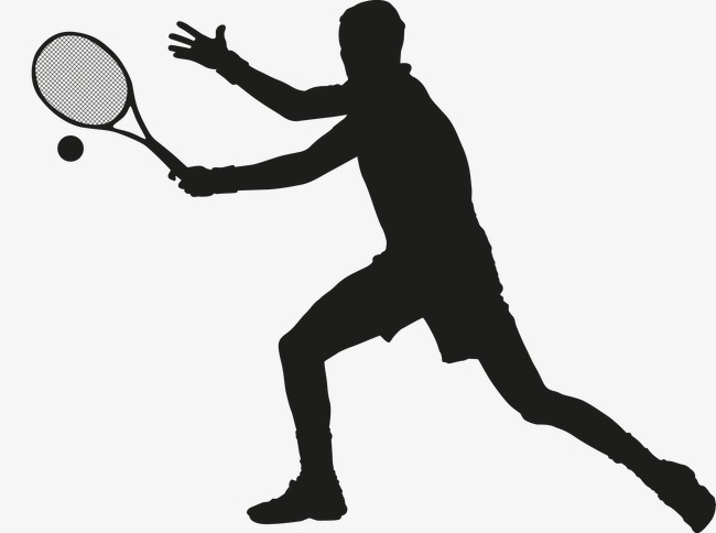 650x484 Man Playing Tennis, Vector, Athlete, Game Png And Vector For Free