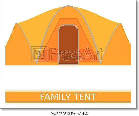560x470 Free Art Print Of Camping Tent Icon. Camping Tent Vector Icon
