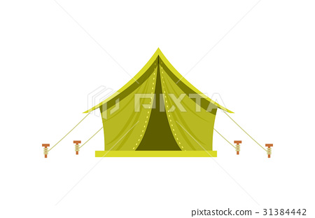 450x311 Adventure Camp Tent Icon Isolated Vector
