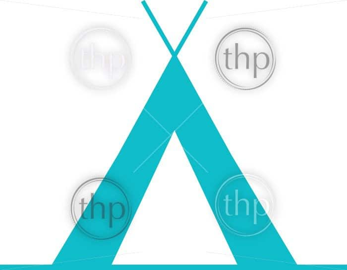 700x544 Tent Camping Icon In Simple Flat Vector Photo