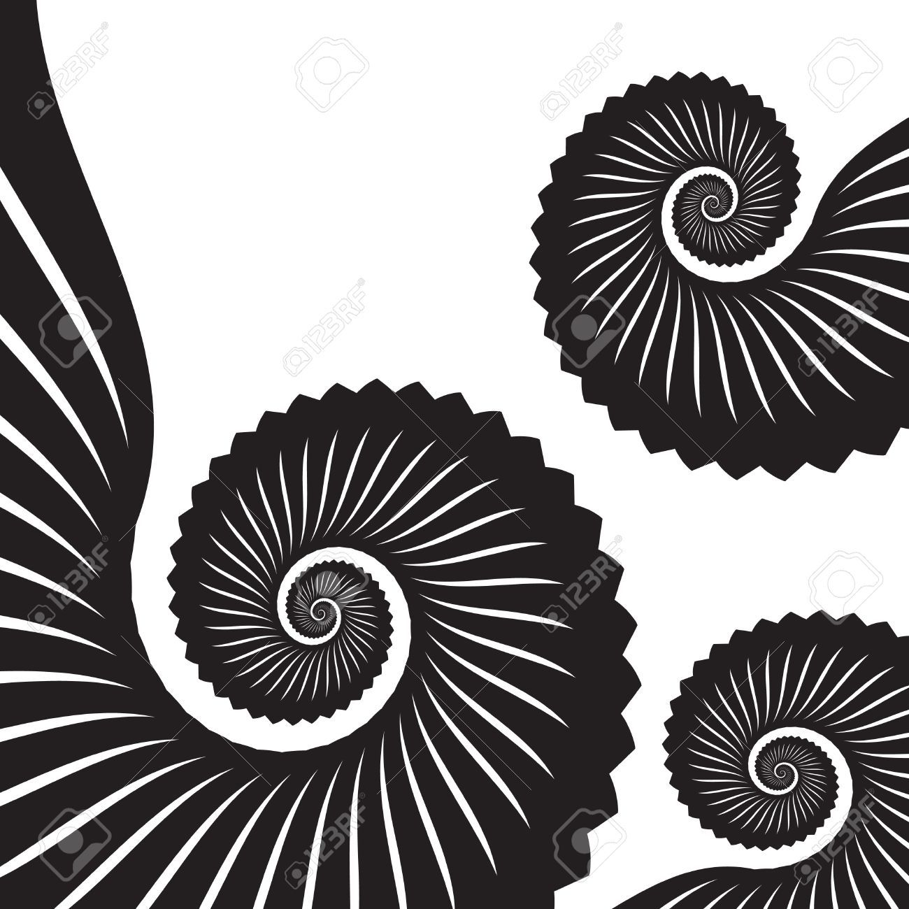 1300x1300 Tentacle Vector Patterns