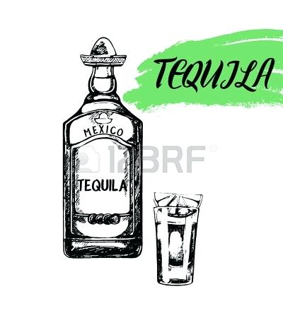 400x450 Tequila White Bottle Tequila Tequila Tequila In Tall White And