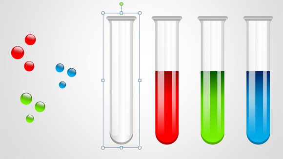 580x326 Free Test Tubes Shapes For Powerpoint