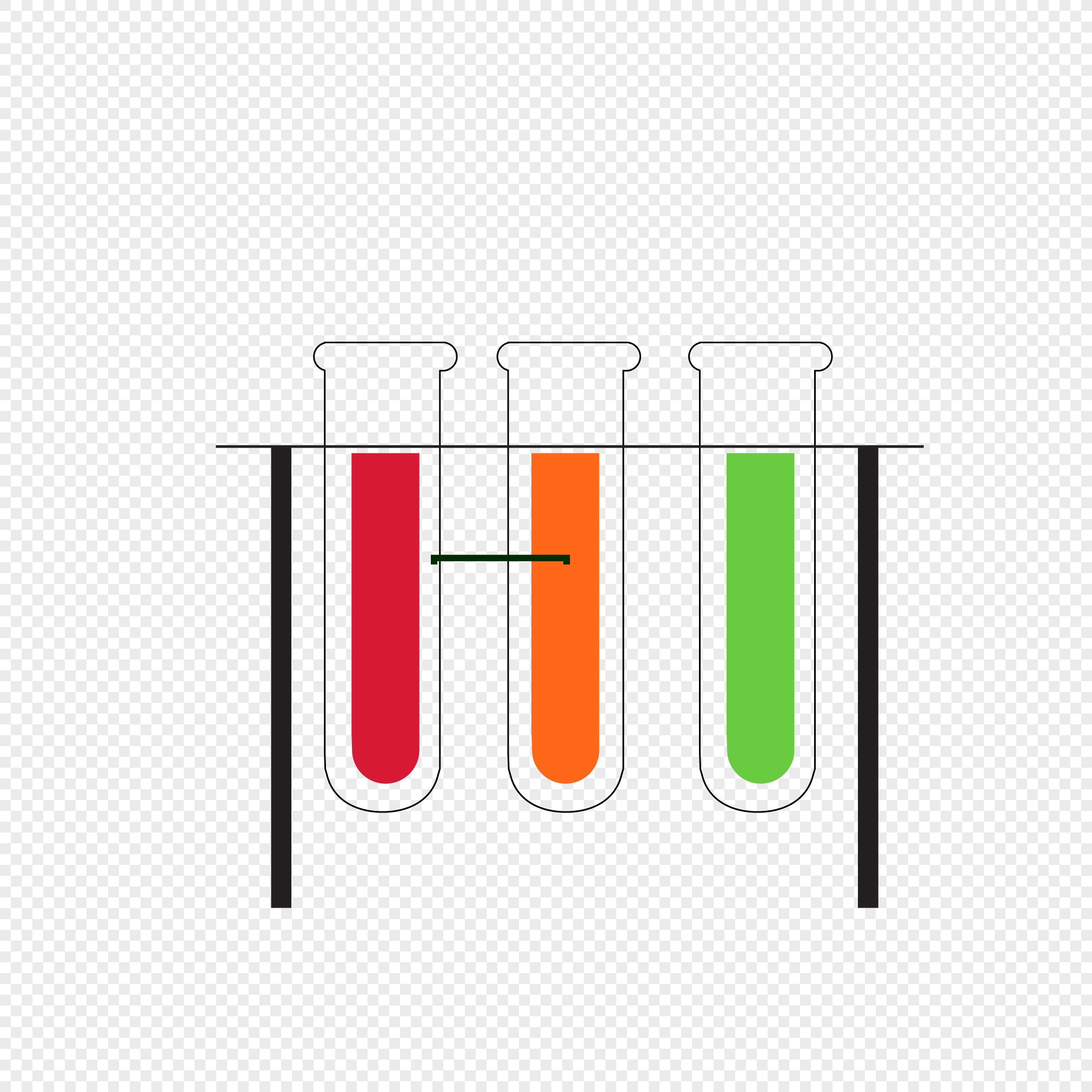 2020x2020 Hand Drawn Line Test Tube Vector Graphics Png Image Picture Free
