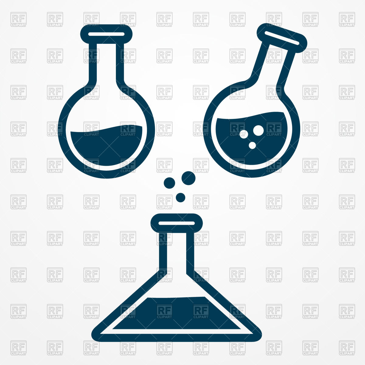 1200x1200 Test Tube And Flask Icon