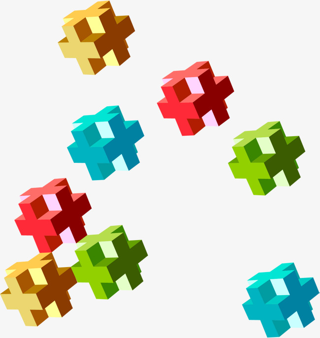 650x687 Tetris, Vector Material, Color Box, Dimensional Geometry Png And
