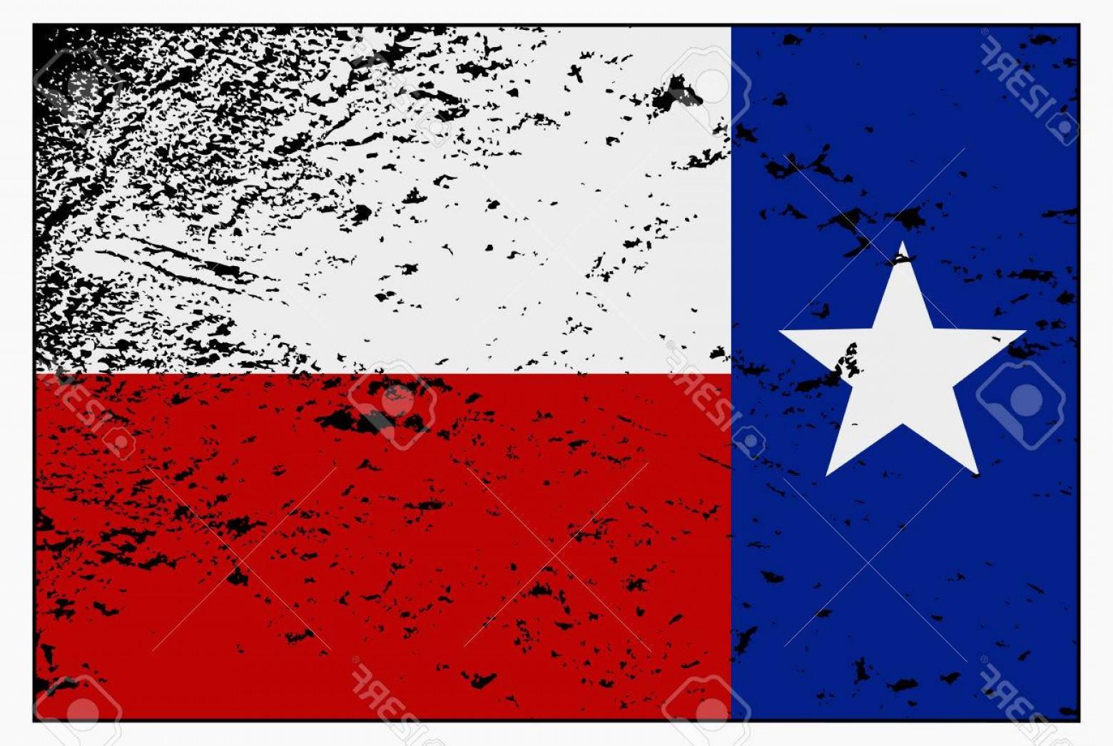 1560x1046 Photostock Vector A Texas Flag With A Grunge Design Isolated On A