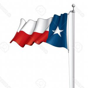300x300 Photostock Vector Vector Illustration Of A Waving Texas Flag