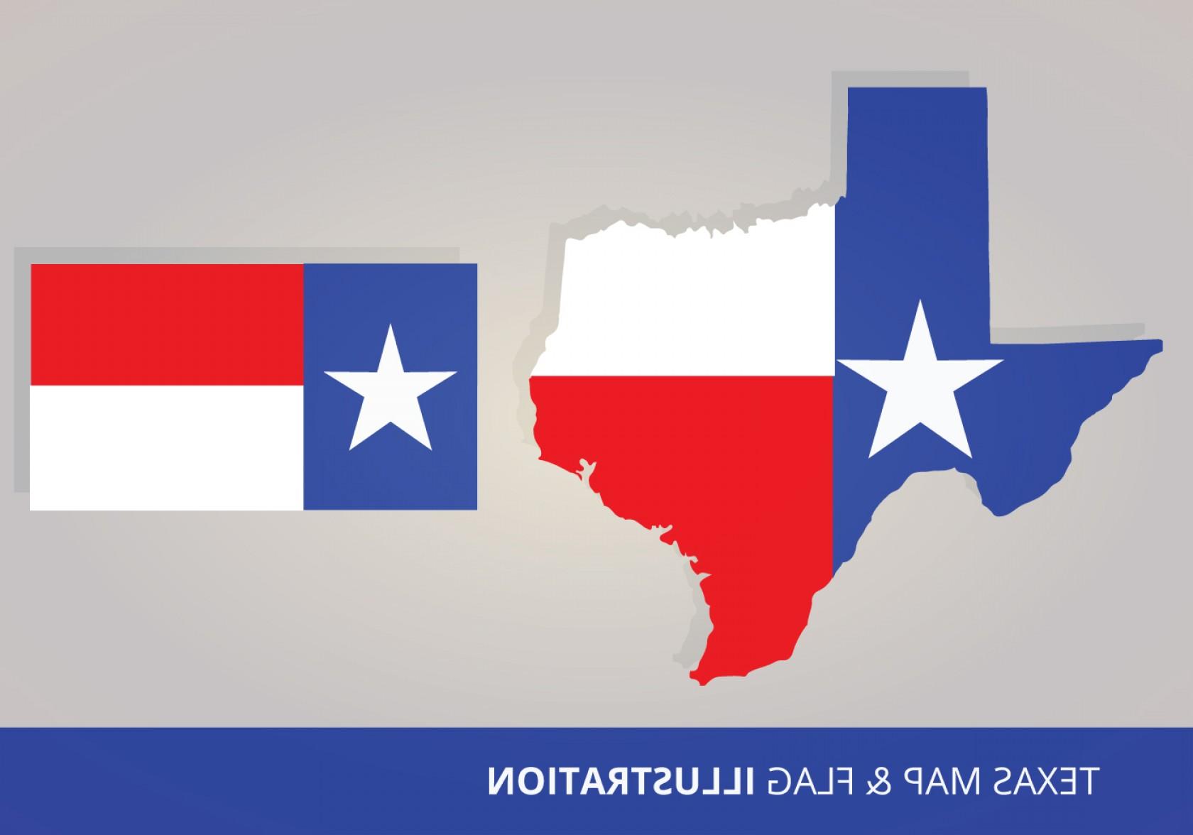 1680x1176 Texas Flag And Map Vectors Orangiausa