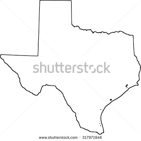 Outline Of Texas Map.Texas Map Vector At Getdrawings Com Free For Personal Use Texas